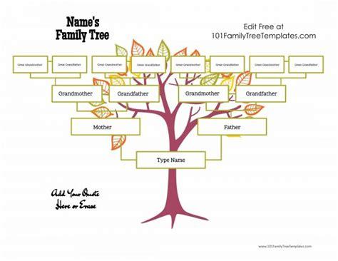 free family tree templates homeschooling pinterest free family