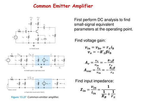 bipolar transistor input impedance ppt bipolar junction transistor circuit analysis powerpoint presentation id 648521