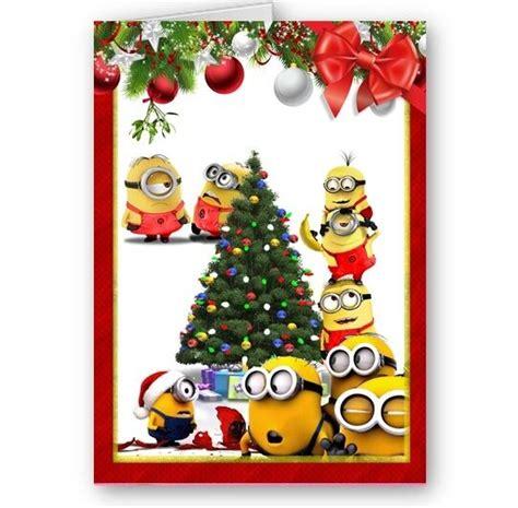 despicable   minions holidays  happy christmas festive card ebay