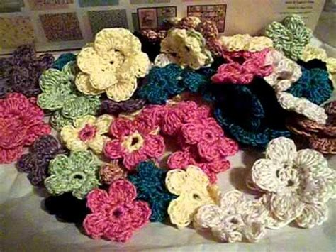 Handmade Crochet For Sale - handmade crochet flowers by jennerator74 for sale at