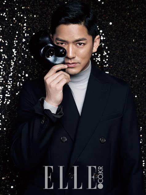 film recommended desember 2014 foto lee yong woo di majalah elle edisi desember 2014