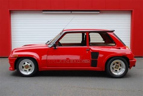 contact patch pristine 1985 renault r5 turbo ii bring a