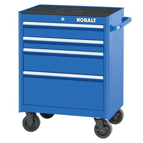 4 drawer kobalt tool bench shop kobalt 2000 series 34 5 in x 26 5 in 4 drawer