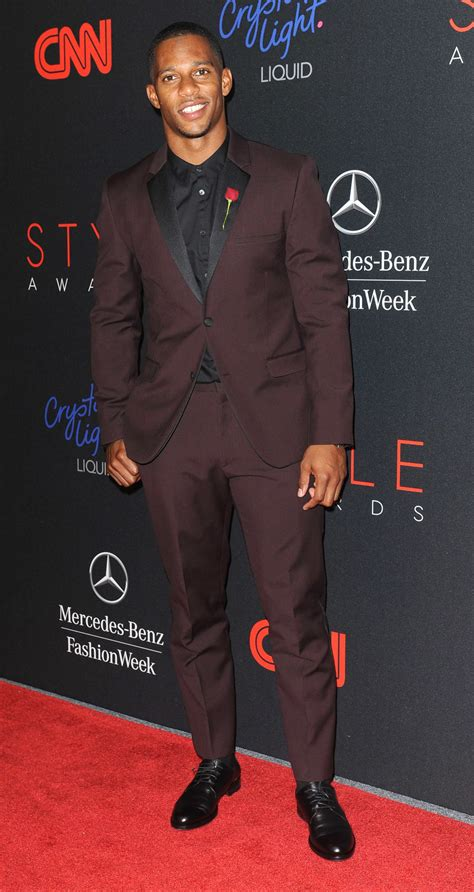 Eclectic Decoration Victor Cruz Named Style Awards Quot Most Stylish Athlete Of