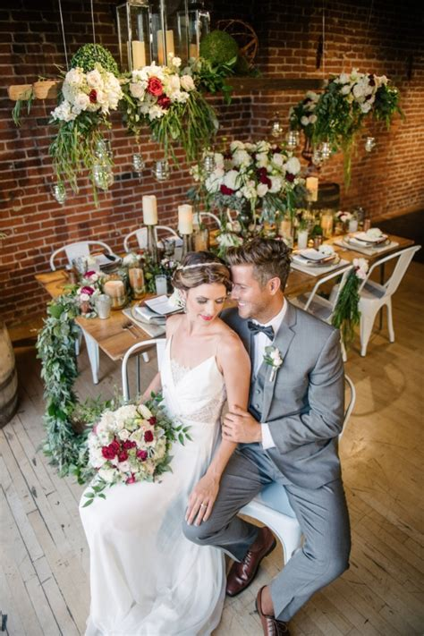 Modern Boho Chic Wedding at The Cellar and Loft at Mission