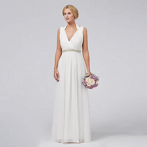 Wedding Dress Debenhams by Debut Ivory V Neck Wedding Dress Debenhams