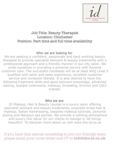 hairdressing cover letter choice image cover letter sle
