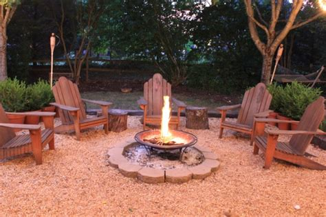 firepits on pits backyards and pit area