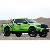 Geiger Cars Ford SVT Raptor Is A Beastly Green Bruiser