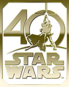 star wars anniversary star wars 40th anniversary logo gold hd hi res milners blog