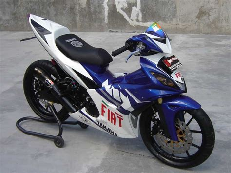 Modifikasi Jupiter Mx foto modifikasi motor yamaha jupiter mx simple modifikasi