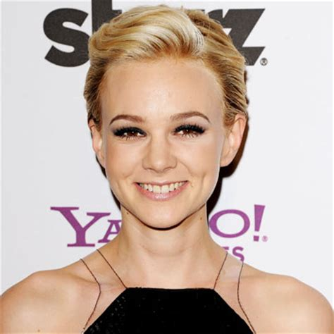 formal comb back pixie cut carey mulligan hairstyle hairstyles stylenoted pixie style pushed back
