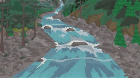 gif falling river collapse animated gif  gifer