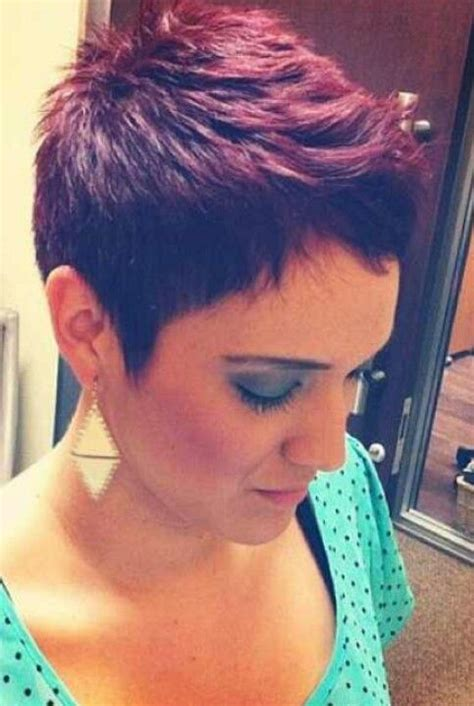 haircut or dye first love the pixie cut not too crazy about the color