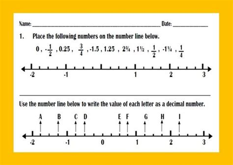 Decimal Number Line Worksheet by Converting Fractions To Decimals And Percents Fractions