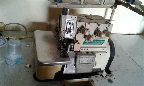 Mesin Obras Kaos mesin jahit obras benang 5 merk yamato jajar mesin jahit