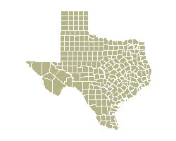 texas county map interactive pages texas atlas of historical county boundaries project
