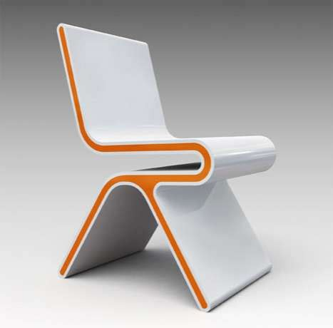 Chair Armchair Design Ideas Futuristic Creamsicle Seats Chairsforthe21stcentury