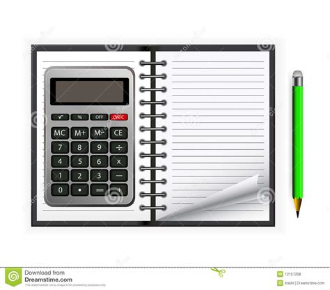 calculator x8 download calculator with notebook royalty free stock photos image