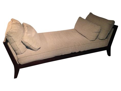 mccreary modern sofa mccreary modern contemporary chaise sofa day bed chairish