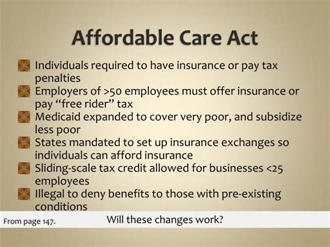 the affordable care act ppt download ppt chapter 6 financing and reimbursement methods
