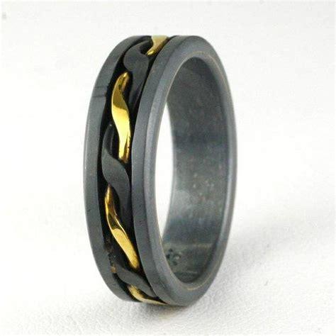 black gold mens wedding rings wedding promise