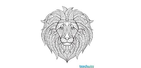 4 Intricate Woodland Animal Colouring Pages Teachwire Coloring Pages Ks2