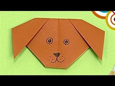 paper a puppy how to make a paper tutorial paper friends 38 origami for