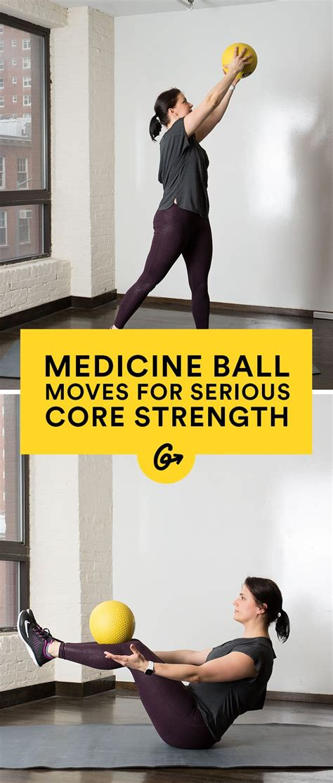 medicine ball moves  build  core strength