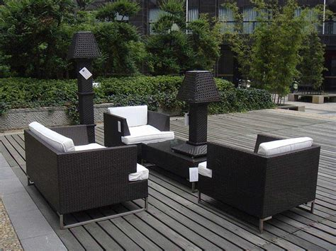 Outdoor And Patio Furniture Modern Patio Furniture With Chic Treatment For Fancy House Traba Homes