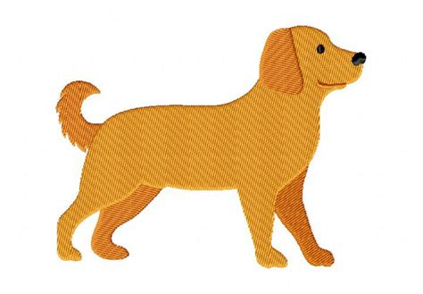 golden retriever embroidery golden retriever machine embroidery design daily embroidery