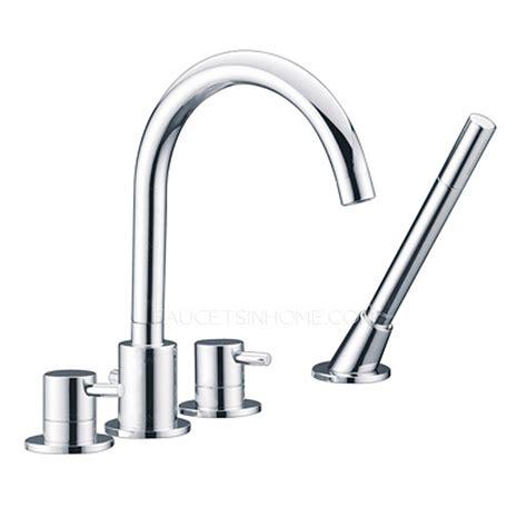 high end rotatable sidespray tub bathtub faucet