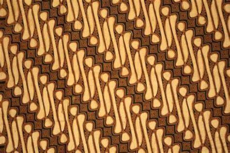 Kain Batik Parang Klitik mengenal 10 motif batik terpopuler di indonesia gomuda co