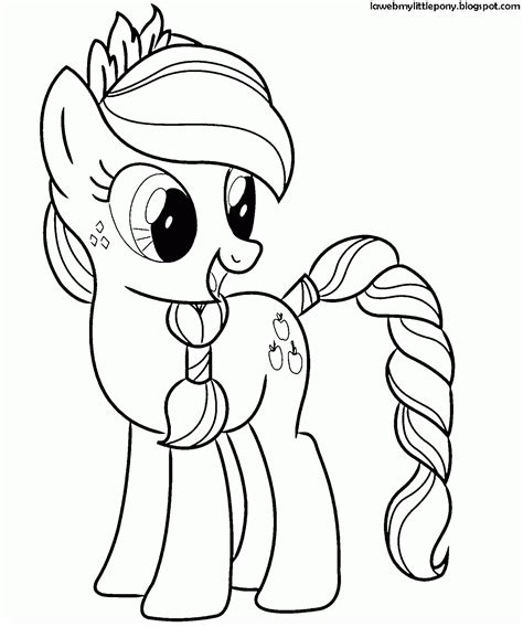 imagenes de unicornios infantiles para colorear my little pony dibujos para colorear de applejack de my