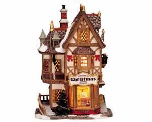 lemax village collection tannenbaum christmas shoppe 35845
