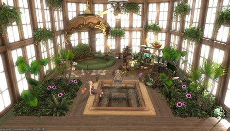 greenery sun room spa   final fantasy xiv