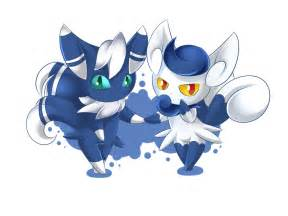 Meowstic by sparkru chan on deviantart