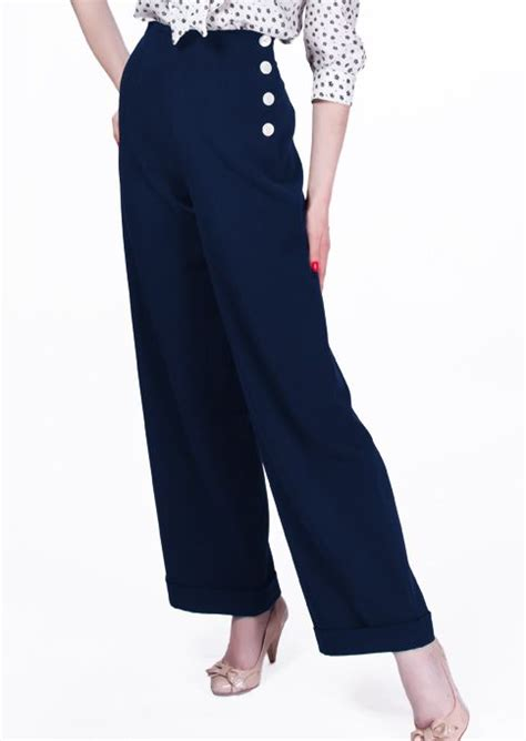 swing pants 1940s swing trousers navy clothes shop till you drop