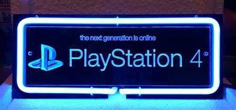playstation light up sign sony playstation 4 ps4 3d acrylic bar neon light sign