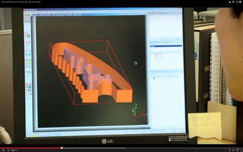 3d Vorhänge by 3dプリンターで建築用コンクリート部材も作れる Futurus フトゥールス