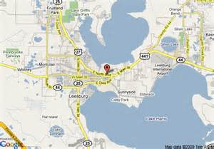 Map Of Leesburg Florida by Map Of Leesburg Days Inn Leesburg