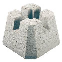 Temporary Patio Flooring Quot Dek Block Quot Concrete Deck Base Rona