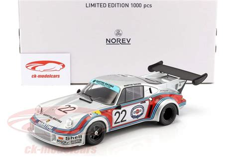 Porsche 911 Rsr 21 22 2nd 24h Lemans 1974 Norev ck modelcars 187424 porsche 911 rsr 2 1 22 2 186 24h lemans 1974 lennep m 252 ller 1 18