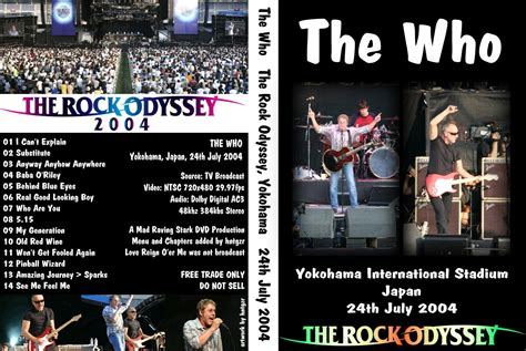the who rock odyssey 2004