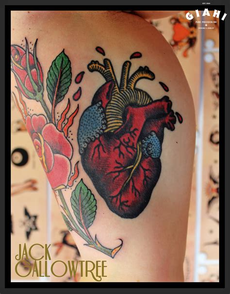 tattoo old school heart image gallery old school heart tattoos