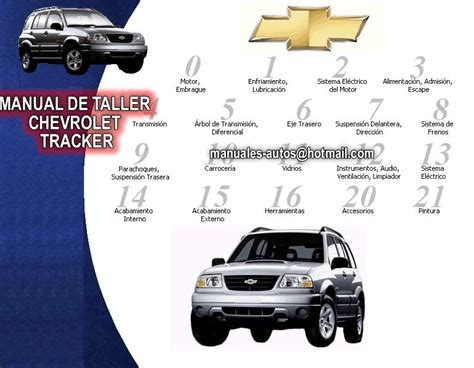 auto repair manual online 2002 chevrolet tracker electronic throttle control 28 2003 chevy tracker repair manual 74073 2003 chevrolet tracker owners manual owners
