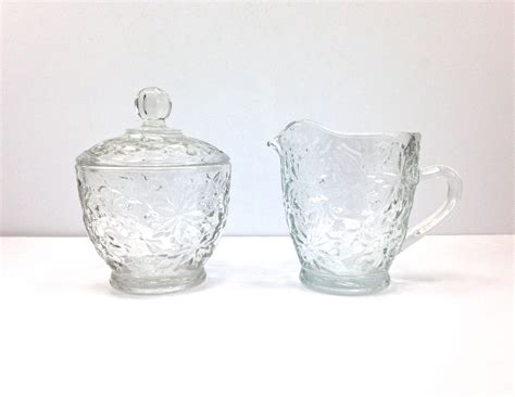 princess house crystal vintage princess house fantasia crystal creamer by