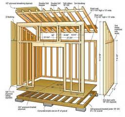 lean shed plans amp blueprints for lovely garden the free frame home plan see house with deck