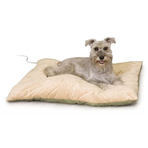 heated dog beds pet shop direct k h thermo bed quilted large heated pet