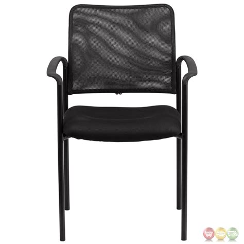 comfortable stacking chairs black mesh comfortable stackable steel side chair with arms